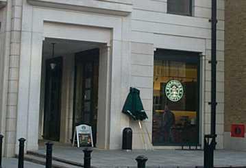 Starbucks 3c Belvedere Road Se1 7gq