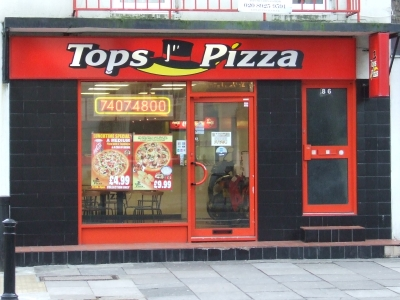 Tops Pizza 86 Borough Road Se1 1dn