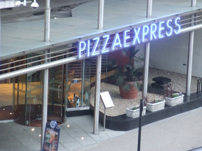 Pizza Express The White House 9 Belvedere Road Se1 8yp
