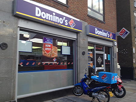 Dominos Pizza 145 Old Kent Road Se1 5ut