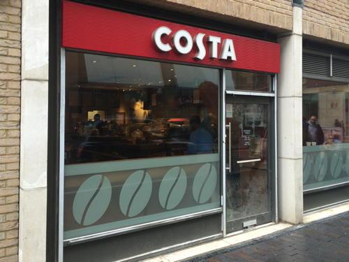 Costa Coffee 18 Great Suffolk Street Se1 0ug