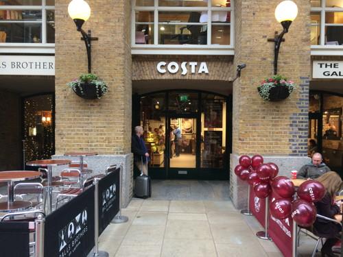 Costa Coffee Unit 21 Hays Galleria Tooley Street Se1 2hd