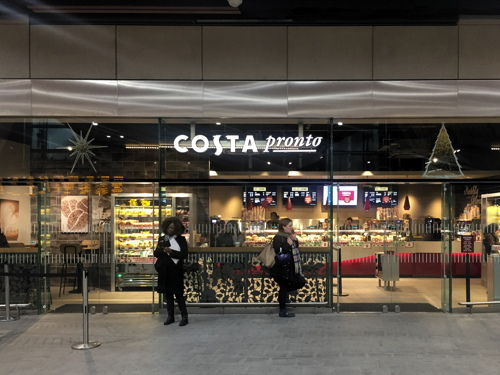 Costa Pronto London Bridge Station St Thomas Street Se1 9sp