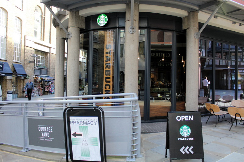 Starbucks 49 Shad Thames Se1 2nj