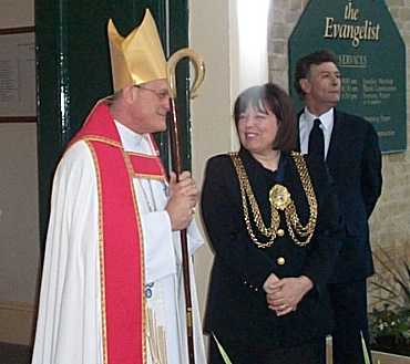The Bishop of Kingston and the Mayor of Lambeth