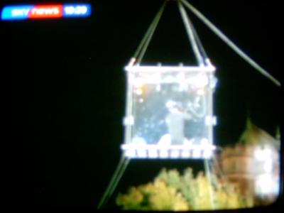 David Blaine on Sky News