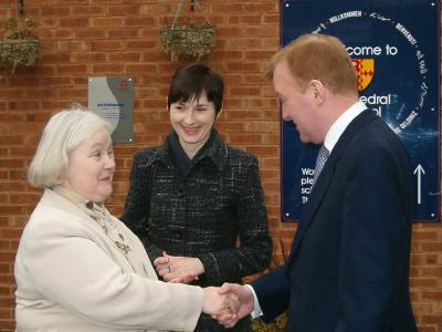 Charles Kennedy at Cathedral  School