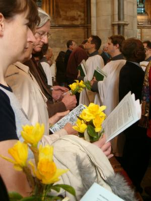 mothering sunday Southwark_Cathedral