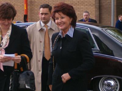 Poland's first lady