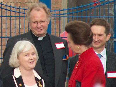 Princess Anne at Cathedral  School