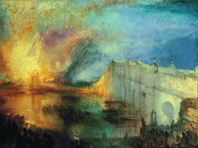 Burning of the Houses of Lords and Commons