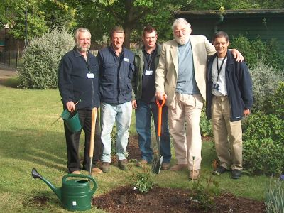 David Bellamy at Archbishops Park