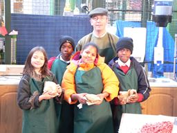 Children from Charles  Dickens Primary School