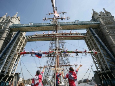 Voyage of Understanding reaches Tower Bridge