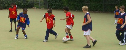 Funding boost for Tabard Gardens young footballers
