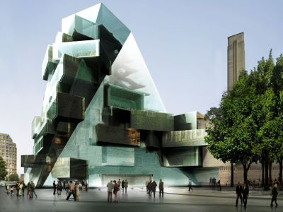 Tate Modern's £165 million 'Olympic' extension