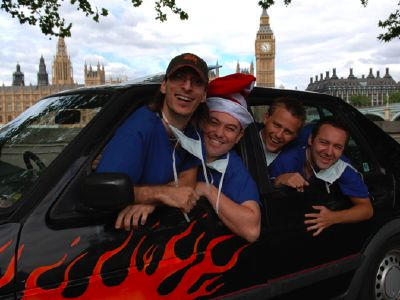 Czech Wreck team to raise money for radiotherapy at St Thomas'