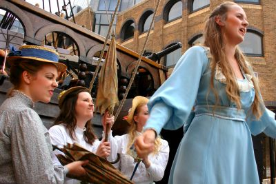 The Pirates of Penzance at the Golden Hinde