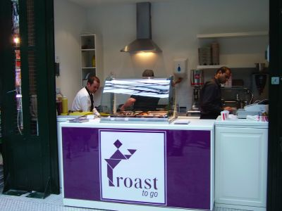 Roast opens Borough Market sandwich stall