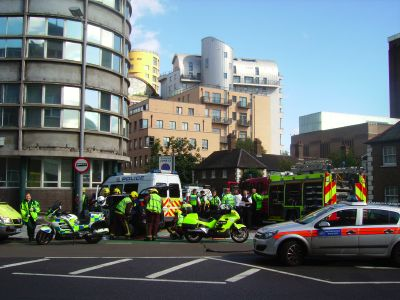 Road chaos after Southwark Street collision