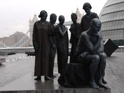 The Burghers of Calais and The Thinker
