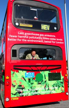 Hybrid bus coming soon to London Bridge