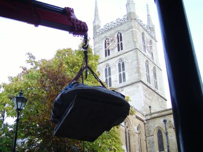 Southwark Cathedral prepares for royal visit