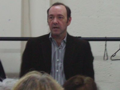 Kevin Spacey at the Waterloo Action Centre AGM