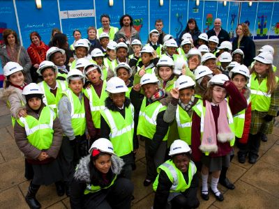 Southwark kids create futuristic South Bank