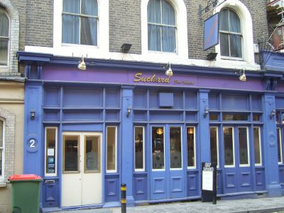 Suchard Free House in Crucifix Lane