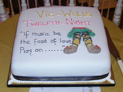Edward Hall cuts Old Vic's Twelfth Night cake