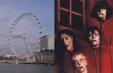 London Eye and London Dungeon