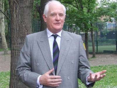 London Nautical School headmaster Gordon Wilson