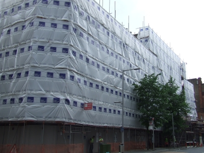 154-172 Tooley Street is currently a building site