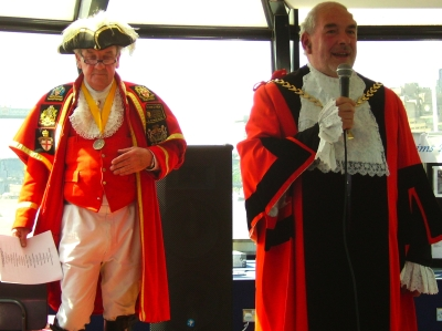 Town Crier Peter Moore and Mayor of Southwark Bob