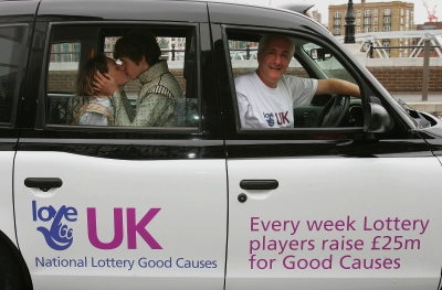 Lottery offers free taxi rides on South Bank and Bankside