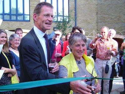 Nicholas Serota and Edith Slee