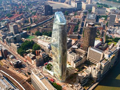 Proposed Beetham Tower at Blackfriars