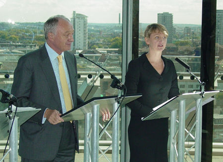 Ken Livingstone and Yvette Cooper