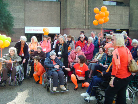 Access to Art sponsored walk on Bankside