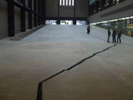 Shibboleth by Doris Salcedo in Tate Modern's Turbine Hall