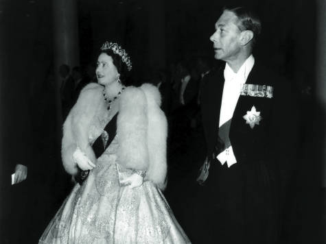 Queen Elizabeth and King George VI at the opening