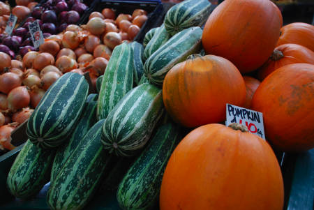 Autumn produce celebration at Borough Market