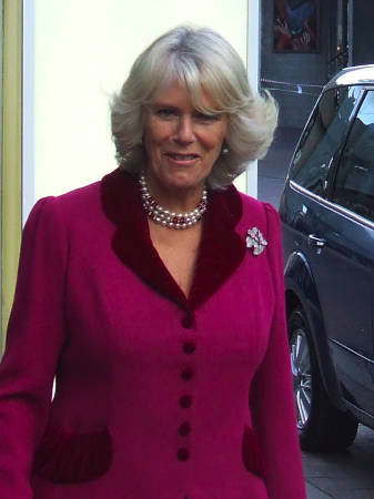 The Duchess of Cornwall outside BFI Southbank