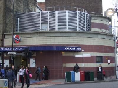Restricted access to Borough tube station