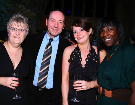 Kevin Spacey and Southwark Council staff