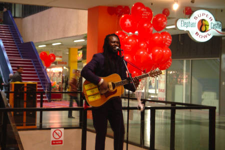 Levi Roots at the E&C Shopping Centre