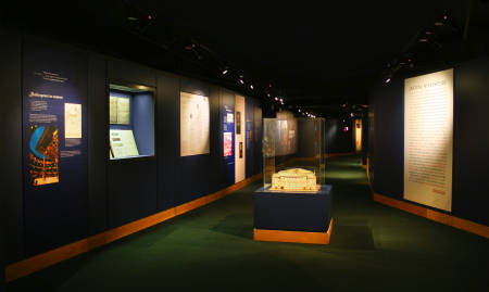 The new-look Globe exhibition