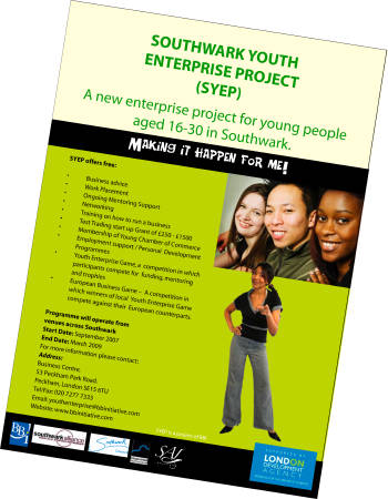 Support for young Southwark entrepreneurs