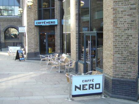 Caffe Nero at St Mary Overie Dock